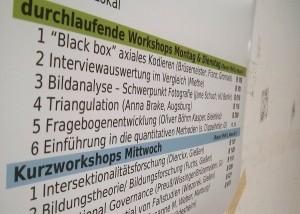 Gießener Methodenwerkstatt Bildungsforschung, Foto: Tine Nowak