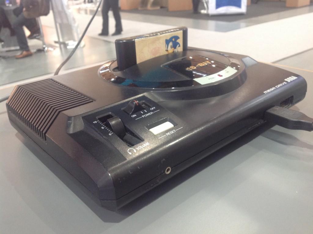 Sega MegaDrive vom RetroGames e.V. Foto: Franco Rau