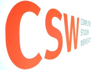 CSW Schild. Foto: Nowak
