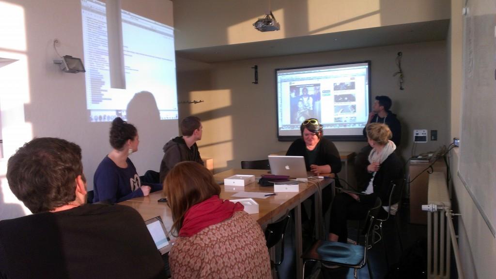 "Auftakt des vierten ""Hands On Digital Media""-Workshops // Foto: René Lipkowsky"
