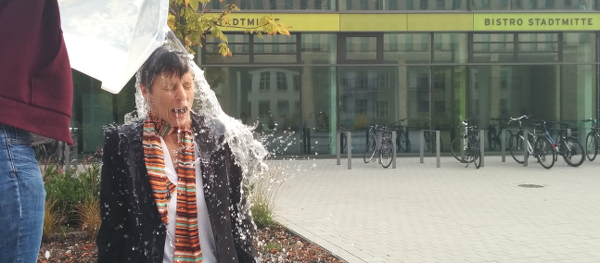 Professor on the Rocks, IceBucketChallenge