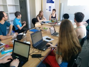 Barcamp Digitale Lehrerbildung. Foto: Tine Nowak