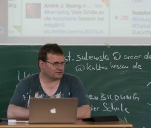 "Barcamp ""Digitale Lehrerbildung"", Foto: Marco Wolf"